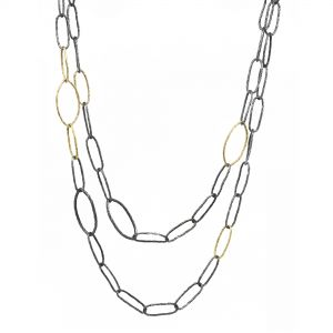 Marquise Silver Necklace
