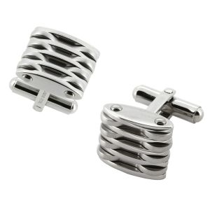 LANCELLO® Stainless Steel Cuff Links