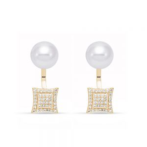 Caprice Square Earrings