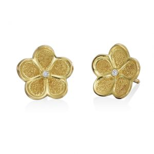G. Boutique Floating Flower Daisy Studs