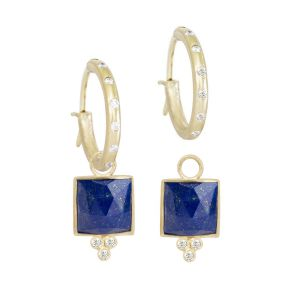Ariana Lapis Gold 18k Dangle Earrings