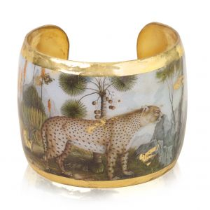 Cheetah in Palms Cuff