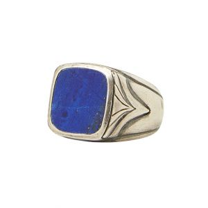 16mm Square Stone Ring