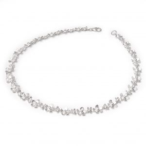 Forget Me Not  Single Row Necklace