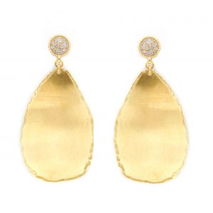 Desert Dream Yellow Leaf Earring