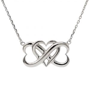Sterling Infinite Love Necklace