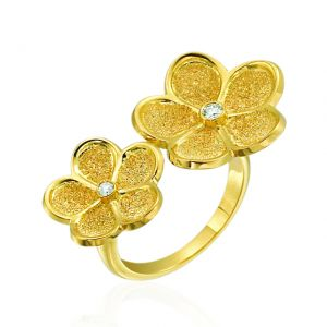 G. Boutique Daisy Flower Ring