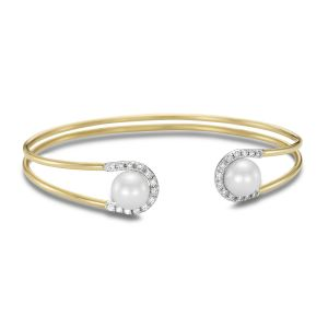 Sorrento Diamond Cuff Bracelet