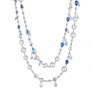 Drop Layered Necklace