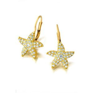 Tiny Starfish Earring