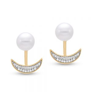 Caprice Crescent Earrings