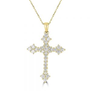 Diamond Cross Pendant empire_3010048-gnj