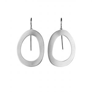 Stepping Stone Wire Earrings