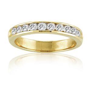 KGM Ten diamond band 14K