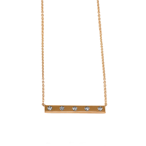Tailored Bar Necklace