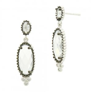 Signature Elongated Drop Earring PRZE020325B