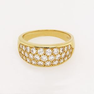 18k Yellow Gold Diamond Ring R6905Y