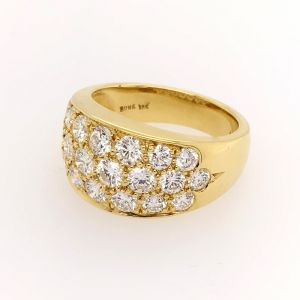 18k Yellow Gold Diamond Ring R6983Y