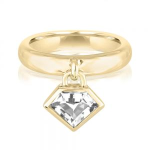 18K Metropolis Citrine Power Charm Ring