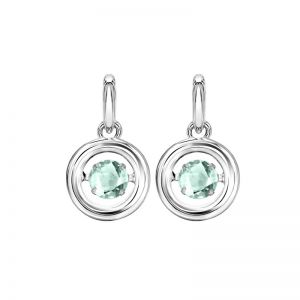 Genuine Aqua Earrings