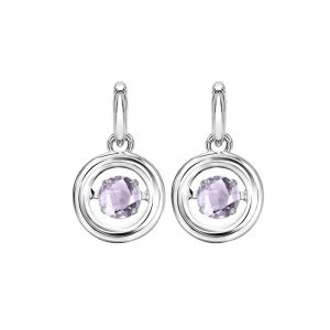 Synthetic Alexandrite Earrings
