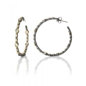 Signature Teardrop Hoop Earrings